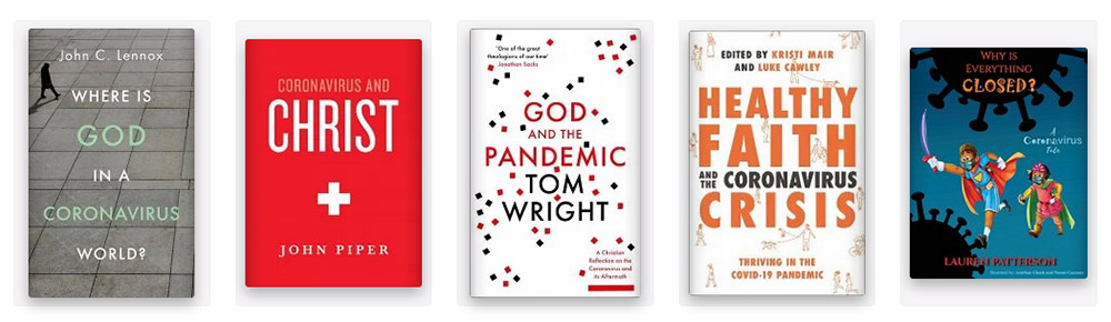 Buy Christian books on the Coronavirus or Covid Pandemic