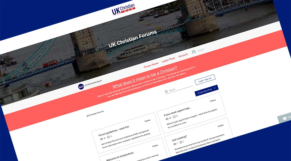 Link to UK Christian Forums by UK Christian Web